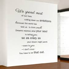 sticker tape picture more detailed picture about english english proverbs wall stickers inspiration quotes wall art decals for children young wall decor for studyroom