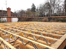 how to build a floor for a house self build timber frame houses part 4