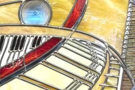 octagon stained glass window custom octagon piano design stained glass window by painted light