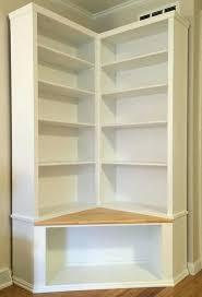 Bookshelves Cherry - bookcase corner wood bookshelves corner bookcase shelf boston