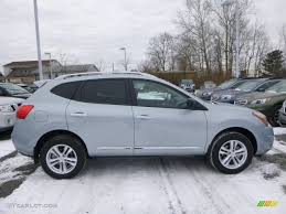 nissan rogue select 2015 frosted steel 2015 nissan rogue select s awd exterior photo