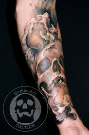 skull arm sleeve 58 best tattoos images on pinterest skull art dark side and