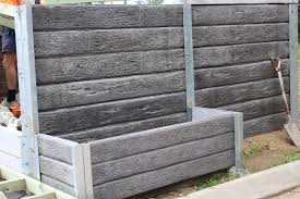 Concrete Planter Boxes by Pioneer Gumtree Concrete Sleepers Used As A Planter Box For More