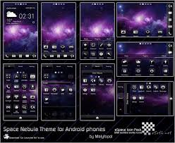 android themes space nebula android theme by malytopol on deviantart