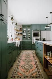 green kitchen cabinets with white countertops quartz countertops guide to 15 kitchens doing it right