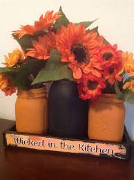 halloween mason jars mason jar centerpieces painted mason