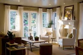 drapery panels with woven blinds houzz