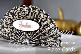 easy to make thanksgiving place cards create and babble
