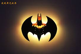 aliexpress buy batman led clock color changing 3d novelty
