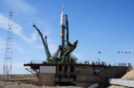 soyuz ms 04 delivers two member crew to iss nasaspaceflight com