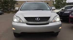 lexus rx 350 used for sale toronto pre owned silver 2005 lexus rx 330 suv awd in depth review
