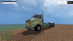 kenworth truck cab kenworth t800 daycab v1 truck farming simulator 2017 2015 15