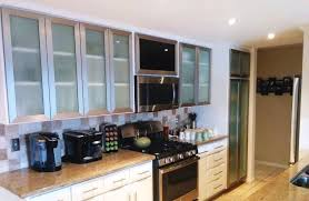 upper cabinets with glass doors lowes kitchen cabinets in stock kitchen glass door designs images