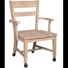 simple chair with casters on small home remodel ideas with chair