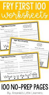 First Grade Sight Words Worksheets Best 20 Preschool Sight Words Ideas On Pinterest Kindergarten