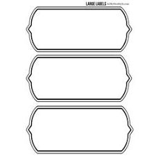 free printable large shapes lots of free printable labels here diff sizes and shapes free
