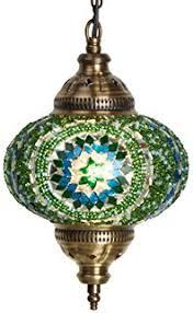 multi colored hanging lights ceiling pendant fixtures mosaic ls turkish ls hanging