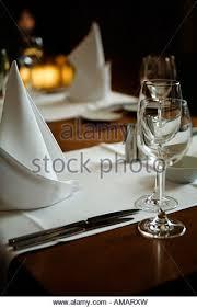 set table to dinner set table in restaurant stock photos set table in restaurant stock