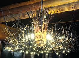 Cabin Light Fixtures Bamboo Chandelier Shade The Appalachian Rustic Outdoor Chandelier