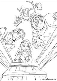 111 best tangled images on pinterest disney coloring pages