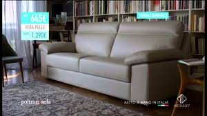 poltrone e sof罌 la ferilli dorme sul divano spot 2014