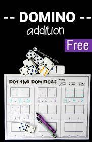 domino addition fun math games fun math and math