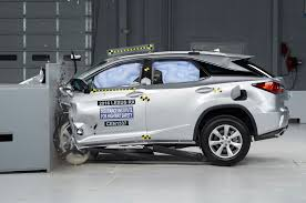 lexus rx safety rating 2016 lexus rx named top safety pick