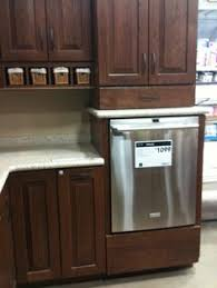 installing a dishwasher in existing cabinets raised dishwasher cabinet perfect for wheelchair accessibility
