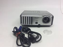 sharp home theater projector sharp notevision xr 30s dlp projector 2300 lumens 74000365216 ebay