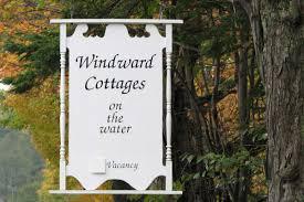 windward cottages bar harbor oceanside vacation rentals