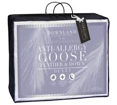 Down Double Duvet Buy Downland 10 5 Tog Goose Feather And Down Duvet Double At