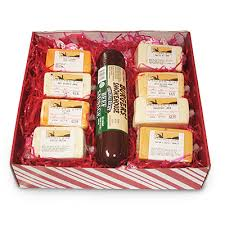 Meat And Cheese Gift Baskets Cheese Gift Box Meat And Cheese Lover 1639 Heather Hill Farms
