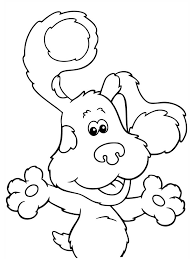 blues clues coloring pages getcoloringpages com