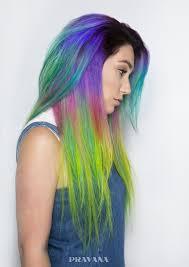 rainbow color hair ideas dreamy rainbow balayage hair for new color stunning and fun ideas