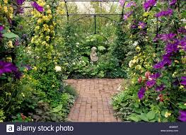 chelsea fs 1991 design agriframes trellis arch path and focal