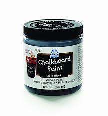 folk art home decor chalk paint amazon com folkart 2517 8 ounce chalkboard paint black arts