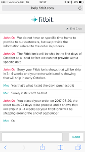 will fitbits be on sale on black friday on amazon solved preorder release date for ionic fitbit community