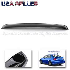direct fit 08 14 subaru impreza wrx sti rear window visor jdm