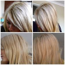 silver blonde color hair toner live colour xxl toner mousse for blonde hair before after