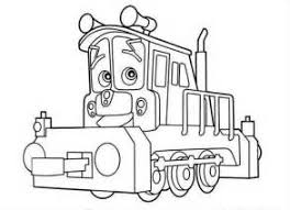 christmas train coloring coloring pages