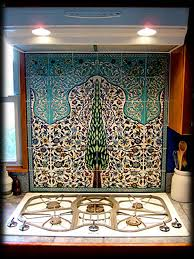 Kitchen Tile Murals Tile Art Backsplashes by The Cyprus Tree Ceramic Tile Mural Hand Painted By Balian Murals