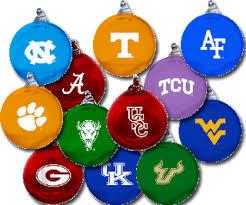 of glass blenko glass blenko college inspired ornaments