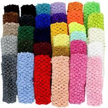 crochet headbands crochet headband value pkg 1 5 pkg of 36