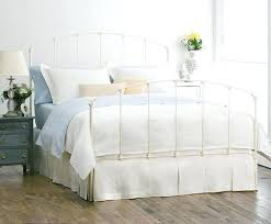 home life sanford iron headboard and footboard queen metal
