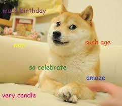 Birthday Meme Dog - birthday doge doge know your meme