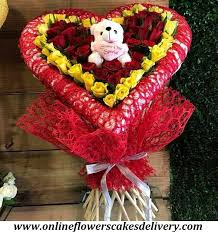 valentines delivery send s day gifts to india online flower delivery in india