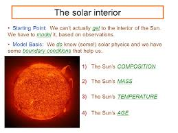 Temperature Of The Interior Of The Sun Stellar Properties Astronomy 100 Fall Stars Are A Basic Unit Of A