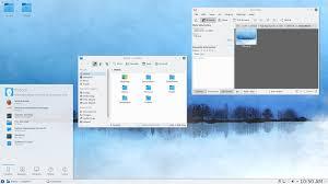 environnement bureau linux fedora avec l environnement de bureau kde plasma desktop