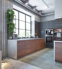 Industrial Home Interior Design Industrial House On Behance