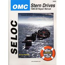 amazon com seloc repair manual omc cobra sx stern drive 1986
